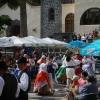 Im kanarischen Dorf in Gran Canaria ist Sonntags immer live-Musik