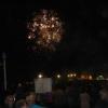 Feuerwerk am Playa de las Canteras zur Beerdigung der Sardine (Ende des Karnevals)