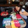 Nicole ist zu Besuch und hat so viele tolle Sachen mitgebracht! Vielen Dank!