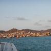 Blick vom Ankerplatz auf Mindelo