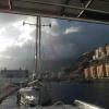 Radazul Marina (Teneriffa), hier war es leider recht unruhig und uns ist auch Festmacher gerissen.