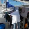 Großer Waschtag in der Marina San Miguel