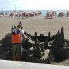 Sandkünstler in Los Cristianos (Teneriffa)