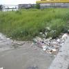 Leider ist der Suriname Fluss nicht gerade sauber