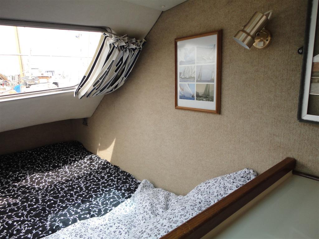 Unser Schlafzimmer in Backbordrumpf