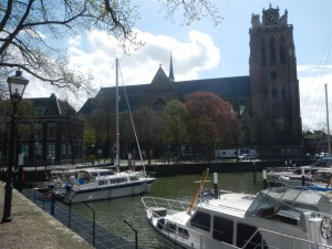 Im Hafen von Dordrecht (Maartensgat). Leider kann man uns mit der Webcam auf deren Homepage nicht sehen.