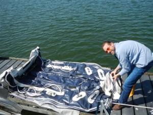 Unser Schlauchboot