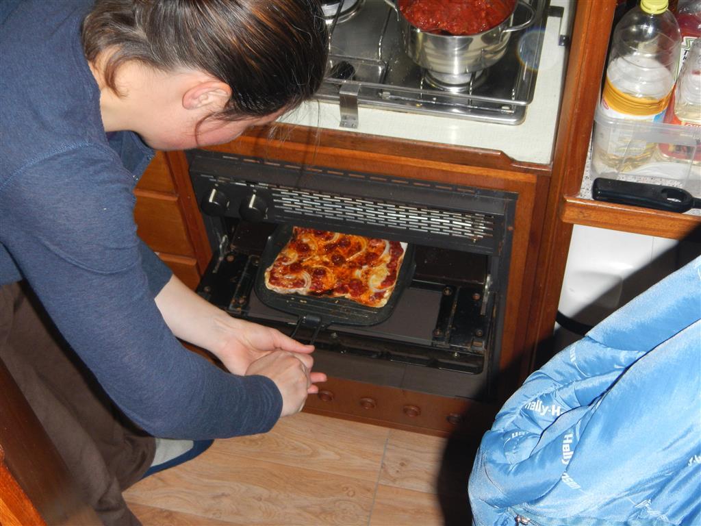 Ab in den Ofen damit!