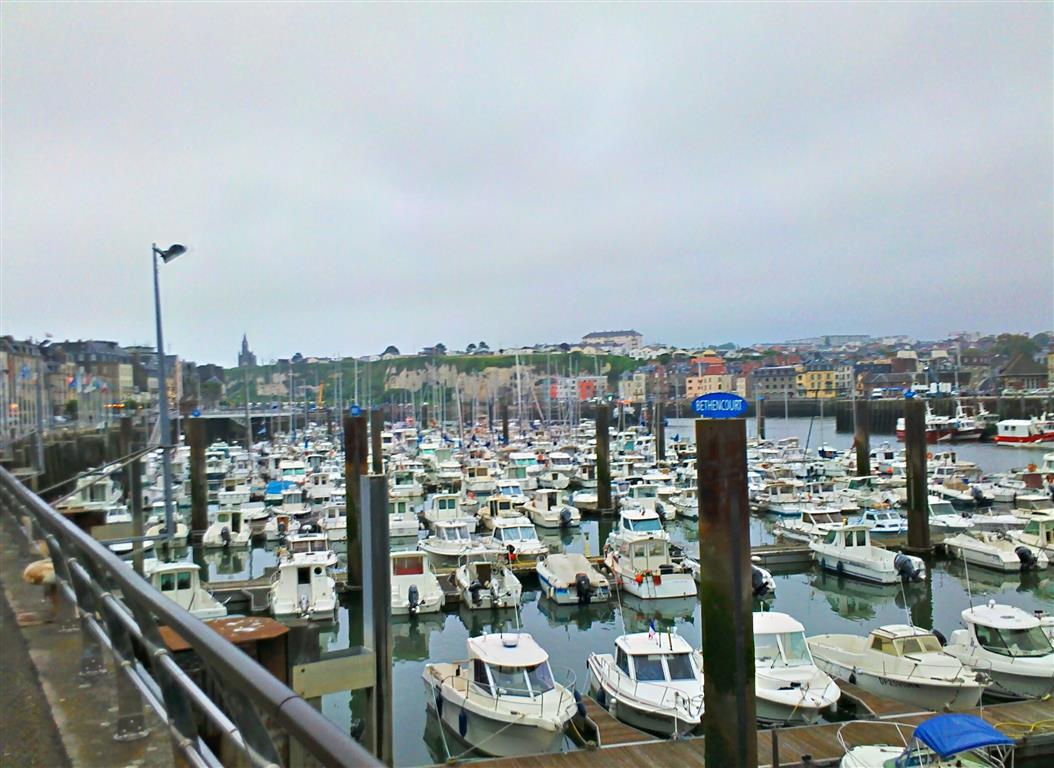 Hafen in Dieppe.
