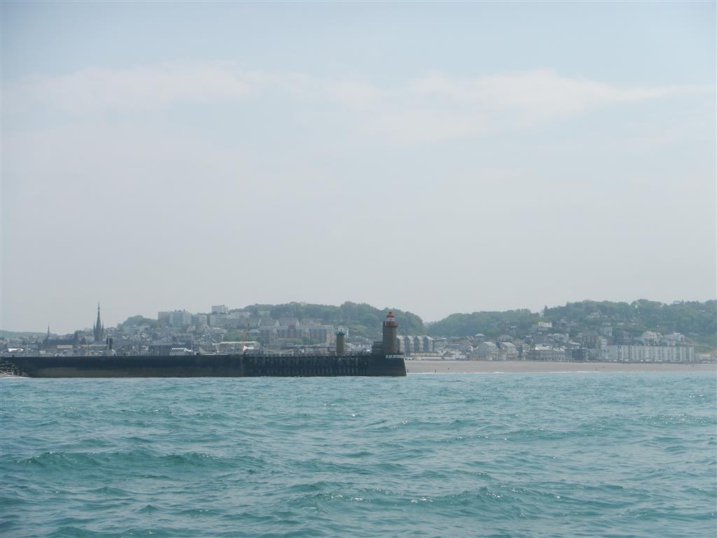 Hafeneinfahrt Fecamp.