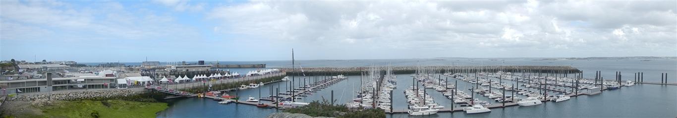 Hafen von Roscoff.