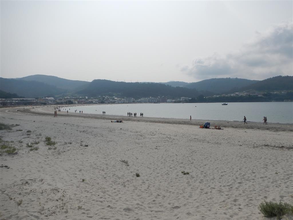 Der Strand in Viveiro