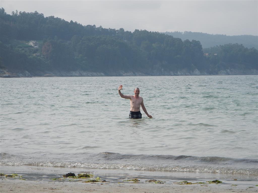 Endlich ein Meer, in dem man auch baden kann!
