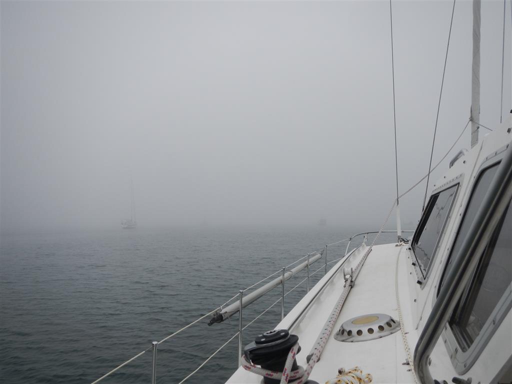 Hier noch ein Nachzügler von unserer Nebelfahrt nach Cedeira.