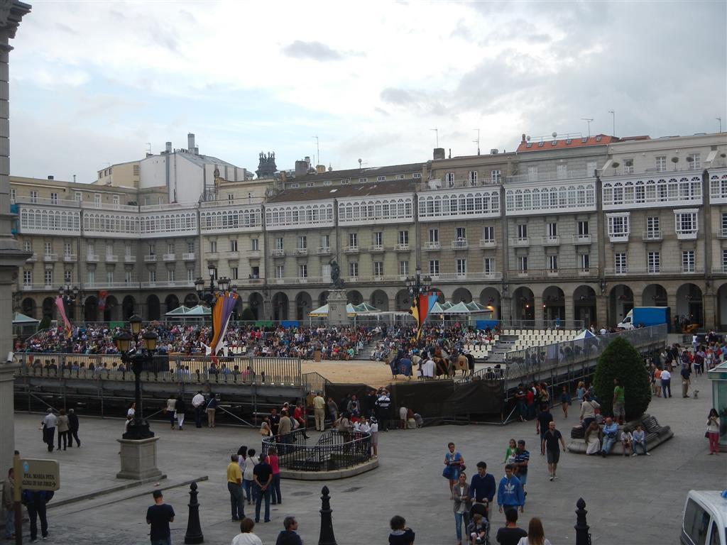 Ritterspiele in A Coruna