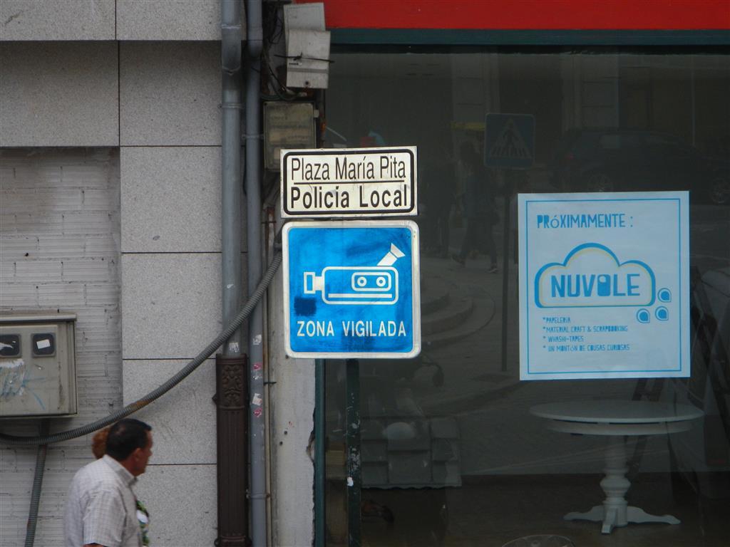 In A Coruna zeichnet man noch auf Kassette auf!