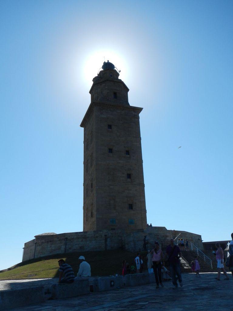 Herkulesturm, der älteste noch in Betrieb stehende Leuchttum.