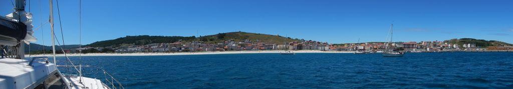 Die Bucht von Laxe