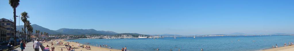 Blick auf die Bucht von Caraminal