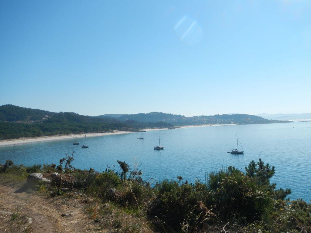 Die Bucht vor dem FKK-Strand, ein Traum