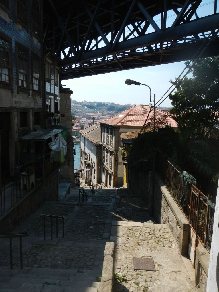 Unser Aufstieg nach Porto