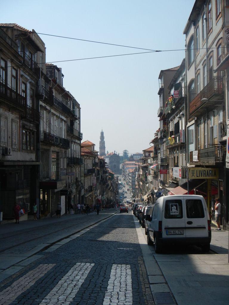 In den Straßen von Porto.