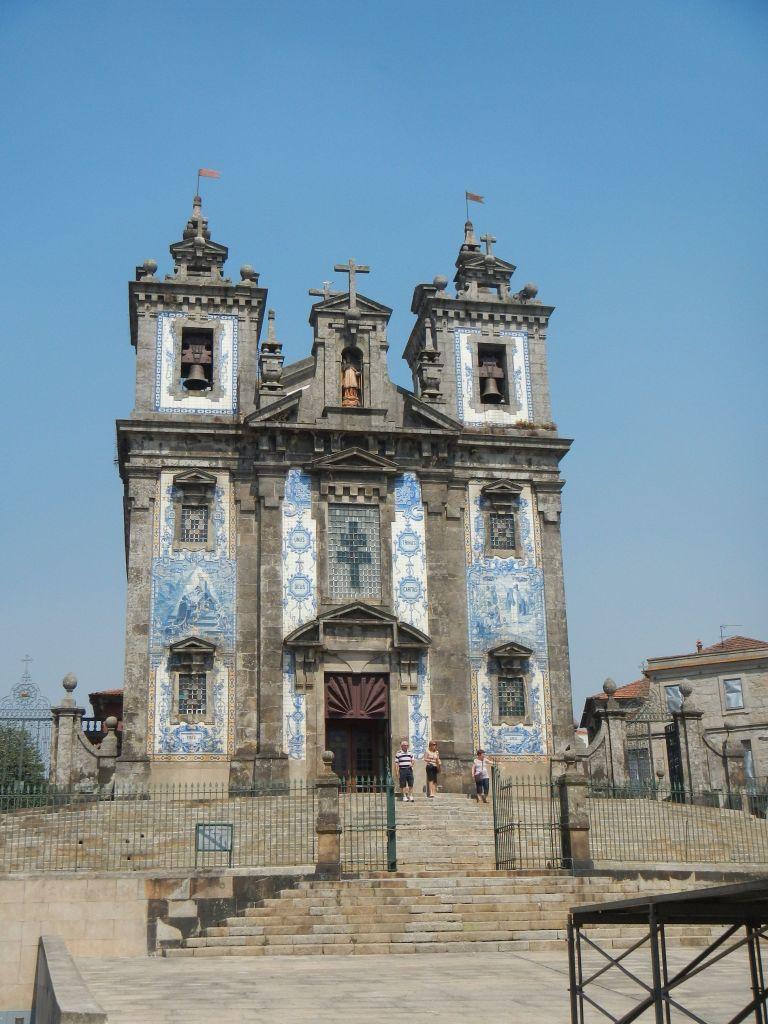 """Die """"Igreja de Santo Ildefonso"""", eine sehr schöne Kirche in der Nähe des Theaters."""