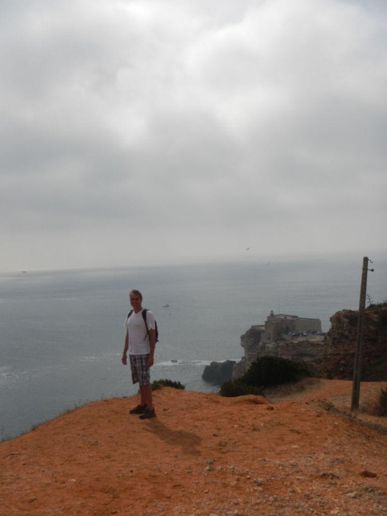 Blick von oben über Nazare.