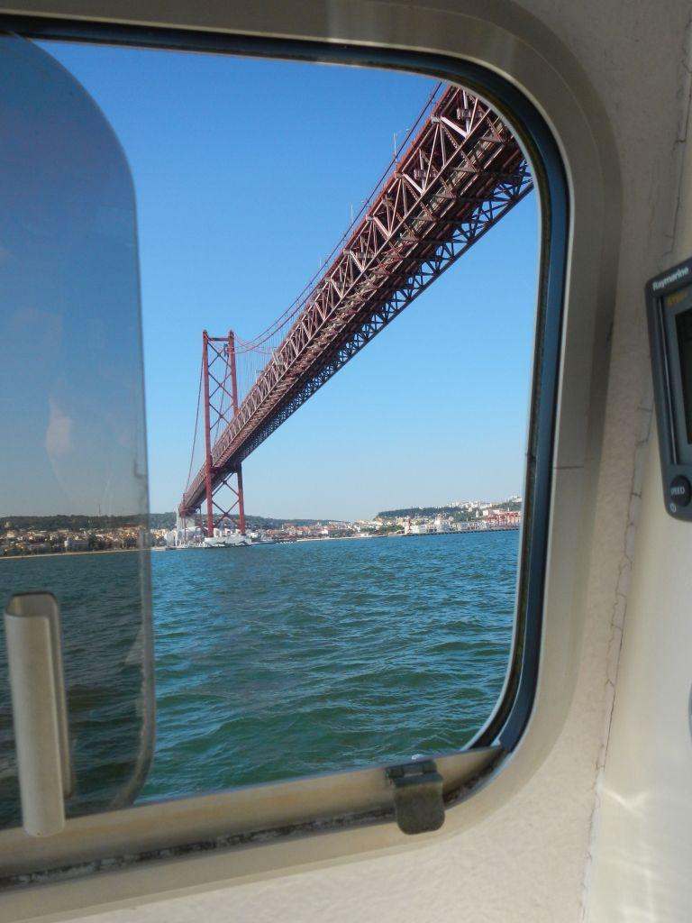Auf dem Weg nach Lissabon.