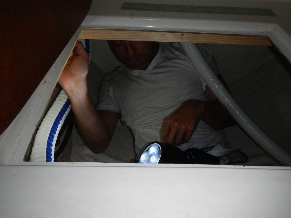 Unterm Klo ist ganz schön viel Platz!