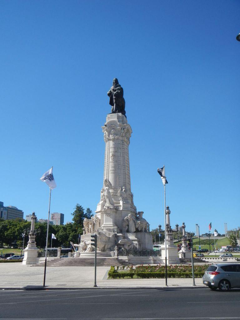 Statue des Marques de Pombal.