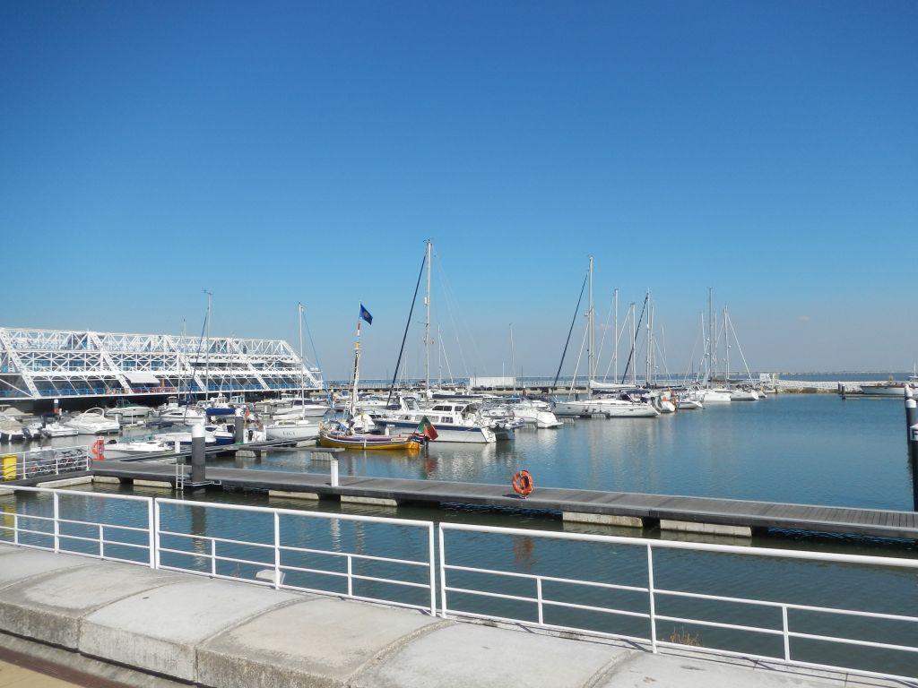 Blue Felix im Hafen von Lissabon