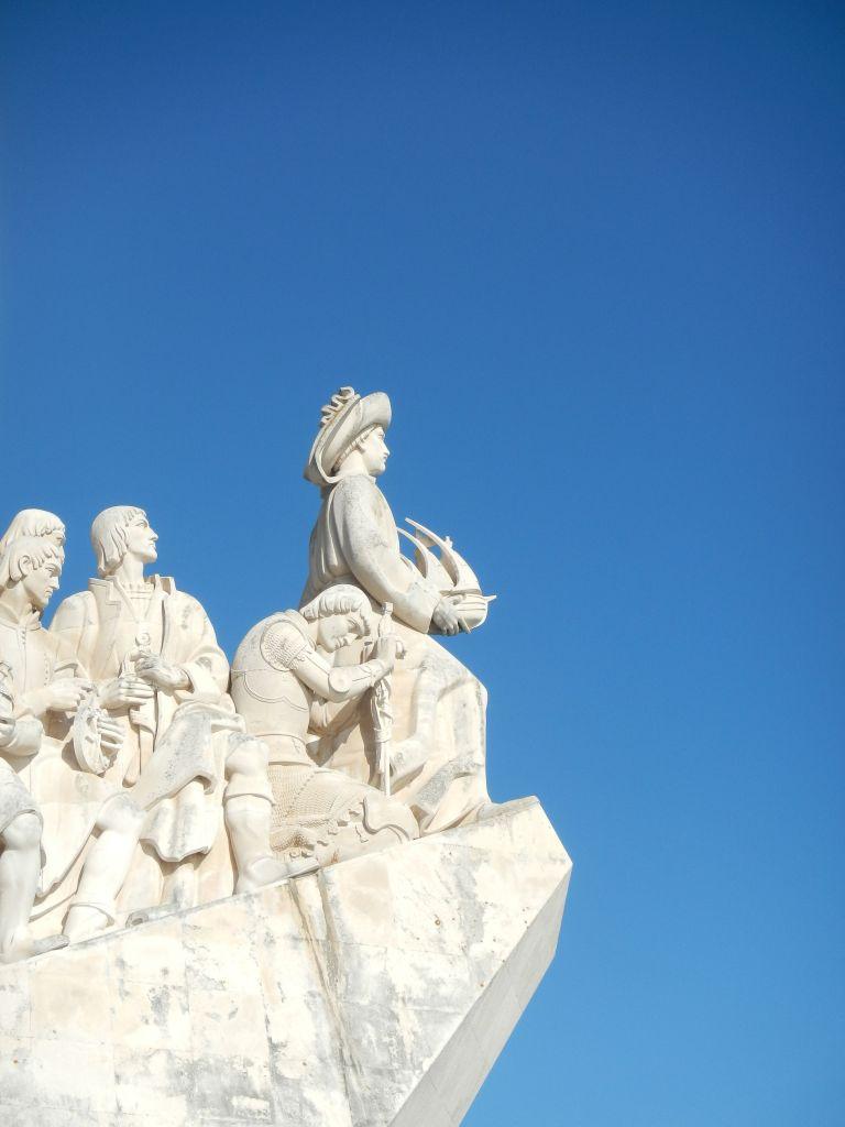 Das Seefahrerdenkmal in Belem.