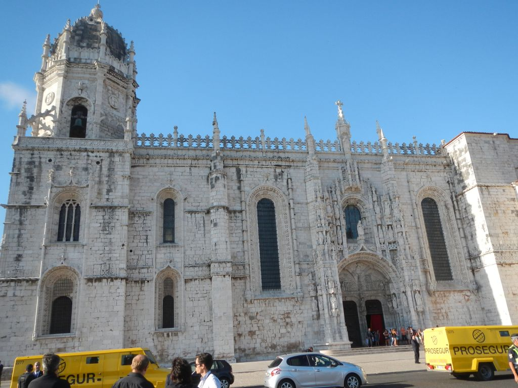 """Das Kloster """"Mosteiro dos Jerónimos""""."""