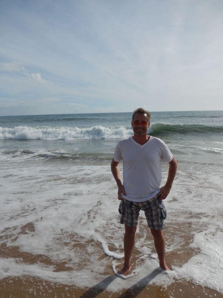 Am Strand von Oeiras.