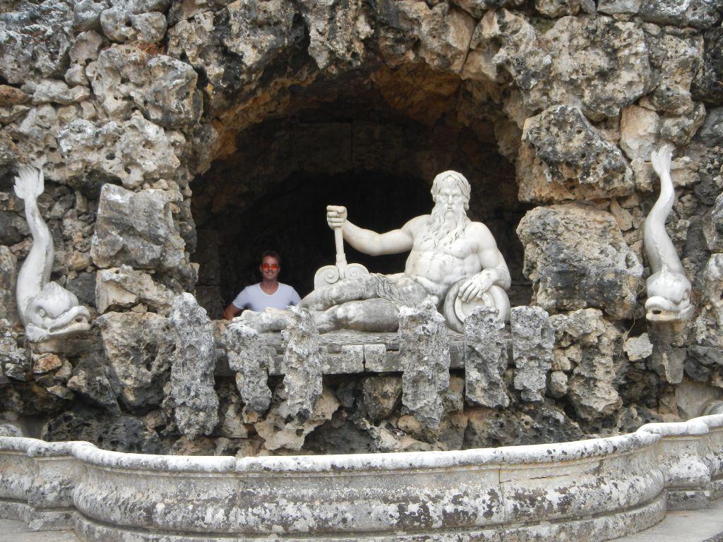 "Wir waren im ""Jardim do Palacio dos Marqueses de Pombal""."