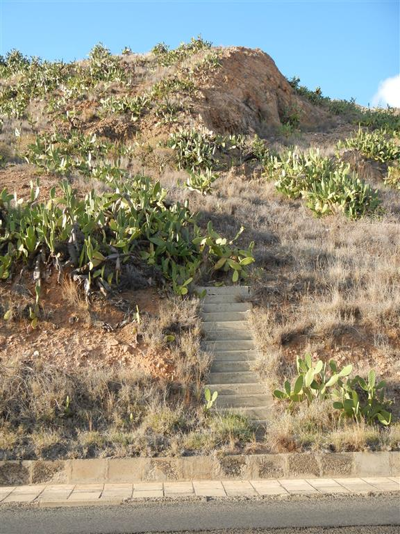 Diese Treppe führt irgendwie nirgendwo hin?!
