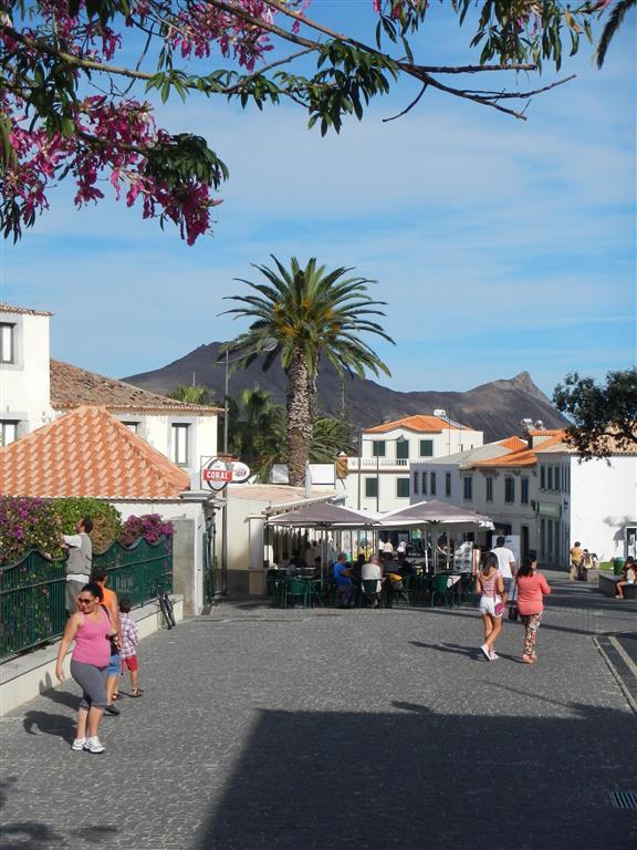 In den Straßen von Porto Santo.