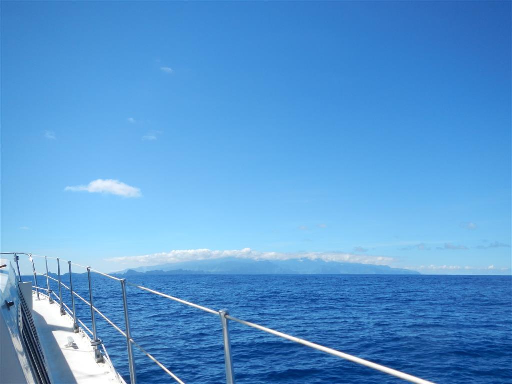 Madeira in Sicht.