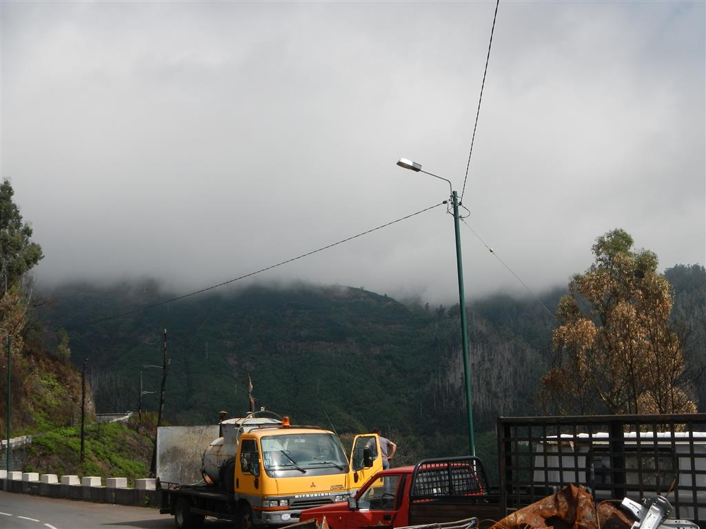 Mit dem Mietwagen auf Madeira unterwegs.