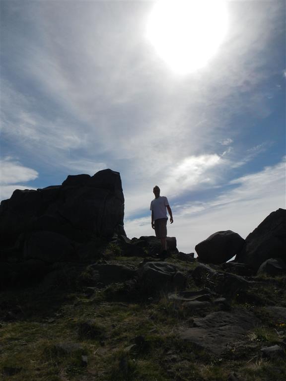 Auf dem Pico Ruivo.