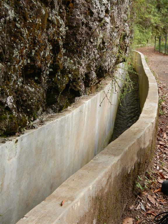 Die Levadas, sie transportieren das Wasser über die ganze Insel.