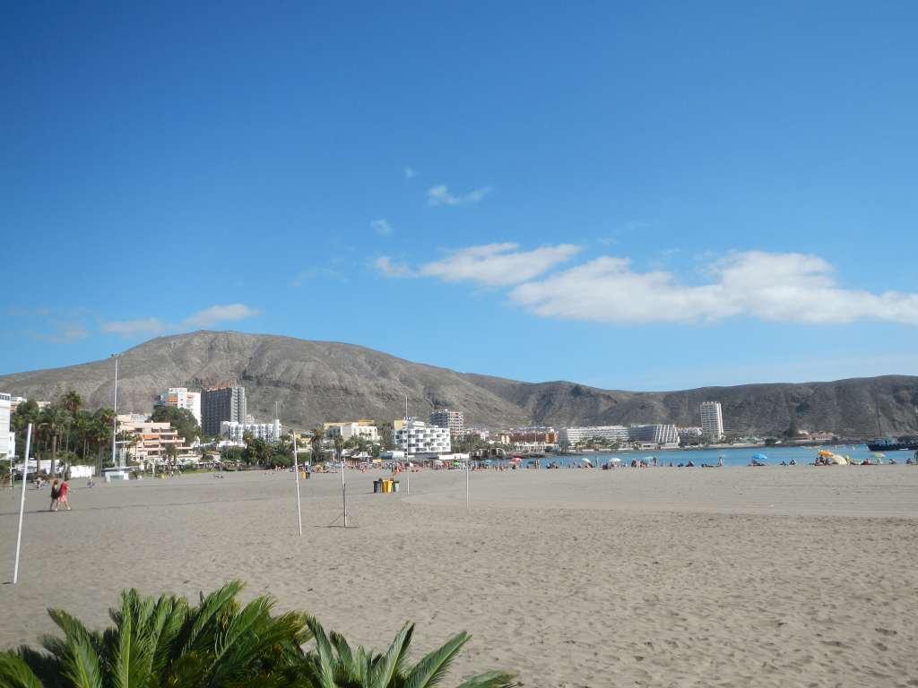 Strand von Los Cristianos.