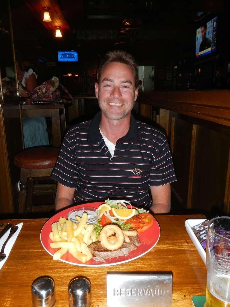 Wir waren im Irish-Pub zur Steak-Night! Lecker!