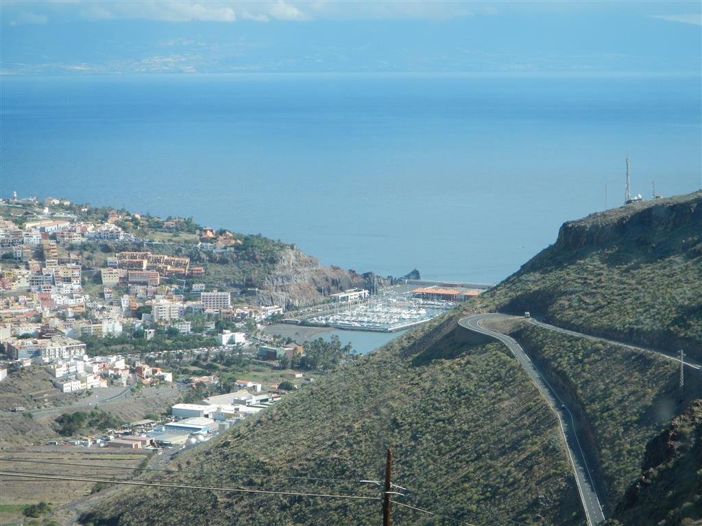 San Sebastian von oben.