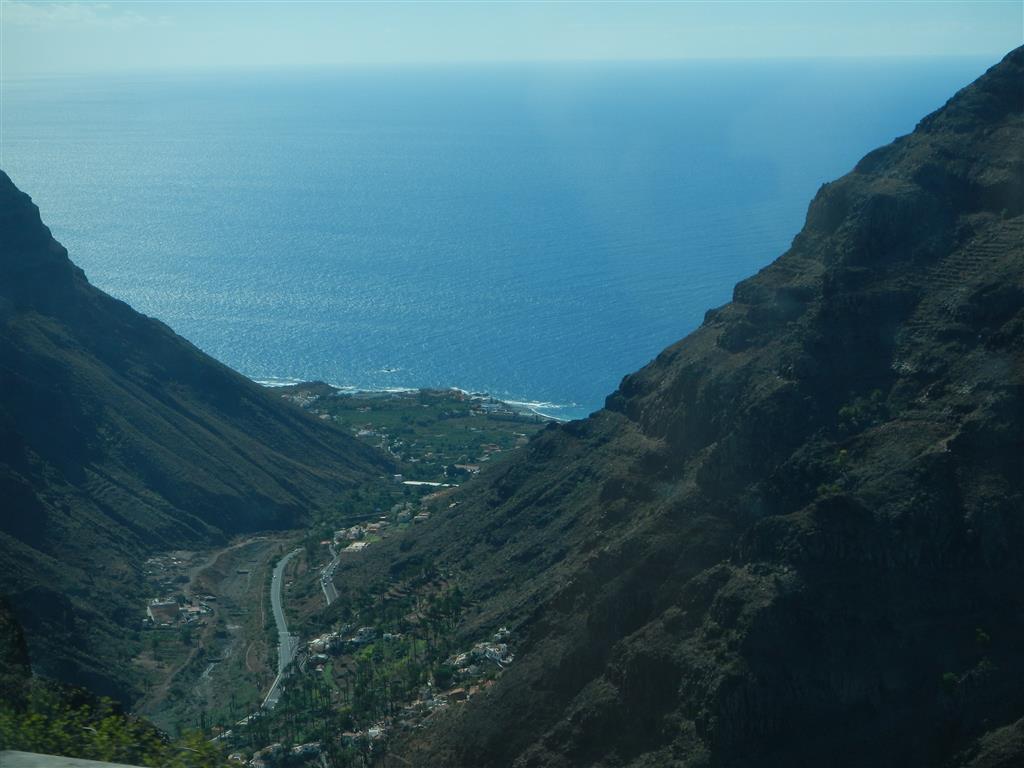 """Blick auf """"Valle Gran Rey"""""""