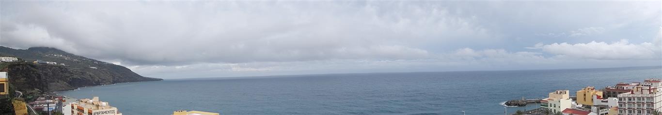 Blick von Santa Cruz de La Palma aufs Meer.