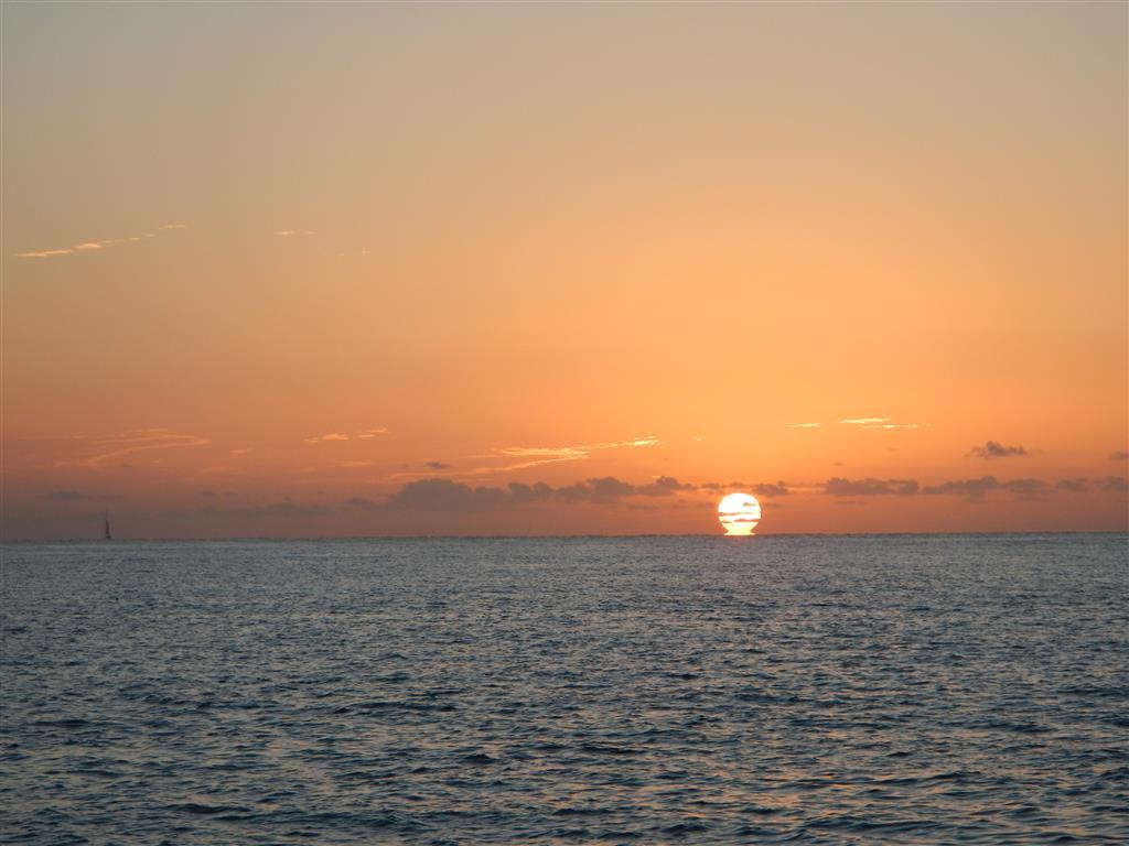 Sonnenaufgang an Heiligabend auf Gran Canaria.
