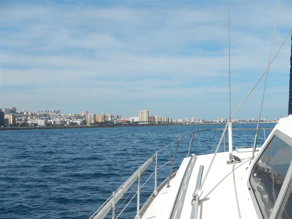 Las Palmas in Sicht.
