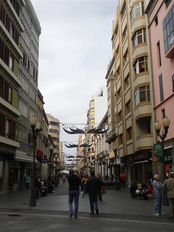 Die Fußgängerzone von Las Palmas.